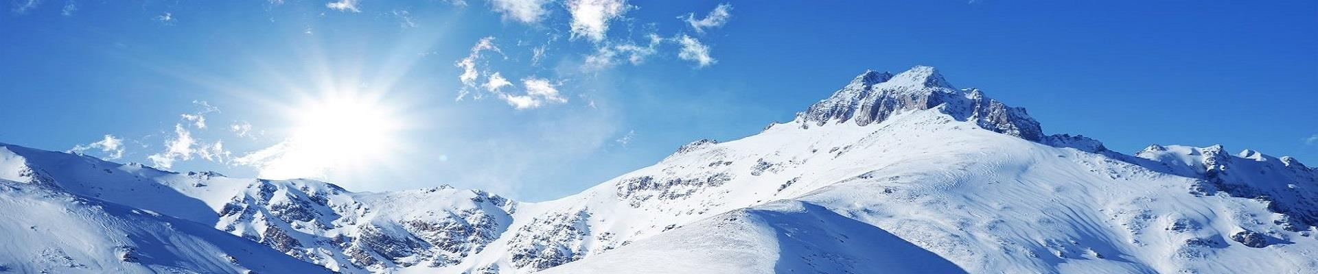 Alpy zima