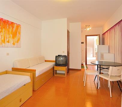 Apartmány RES. SOLARIUM, levné ubytování Bibione, Itálie