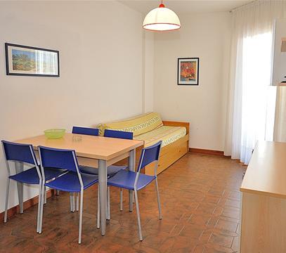 Apartmány COND. CORSO, levné ubytování Bibione, Itálie