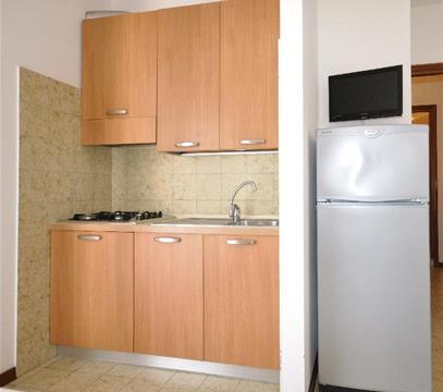Apartmány COND. TONIN, levné ubytování Bibione, Itálie