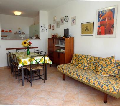 Apartmány Miramare 8, levné ubytování Porto S. Margherita, Itálie