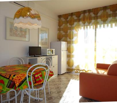 Apartmány Chimere 32, levné ubytování Porto S. Margherita, Itálie