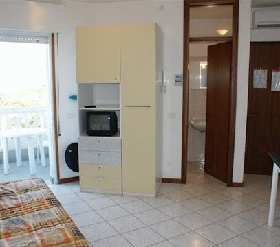 Apartmány Rubin, levné ubytování Lignano, Itálie