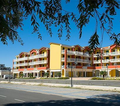 Apartmány RESIDENCE CICLAMINI, levné ubytování Eraclea Mare, Itálie
