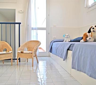 Apartmány Residence Tamerici, levné ubytování Caorle, Itálie