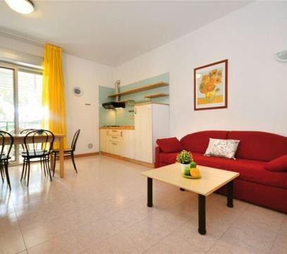 Apartmány Riviera Beach, levné ubytování Lignano, Itálie