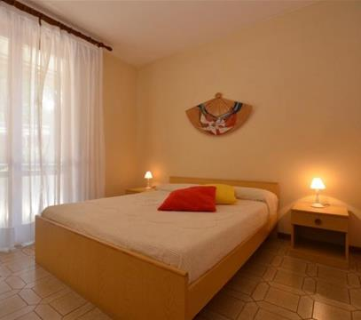 Apartmány Fungo, levné ubytování Lignano, Itálie