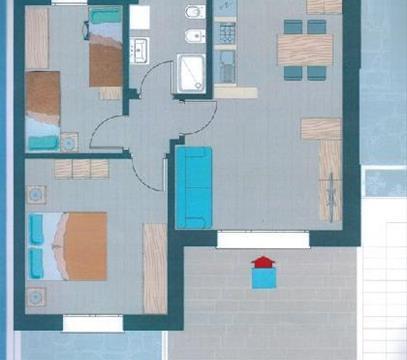 Apartmány Residence Blu Village, levné ubytování Jesolo Lido, Itálie