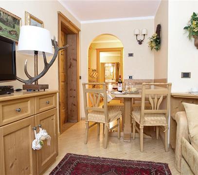 Apartmány Bait de la Freita, levné ubytování Livigno, Itálie
