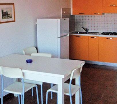 Apartmány HOLIDAY, levné ubytování Porto S. Margherita, Itálie