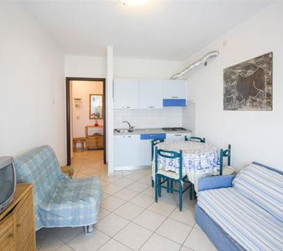 Apartmány IPIRANGA, levné ubytování Porto S. Margherita, Itálie