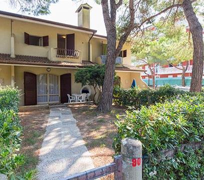 Apartmány LOS NIDOS, levné ubytování Porto S. Margherita, Itálie