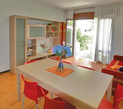 Apartmány PISCINE, levné ubytování Porto S. Margherita, Itálie