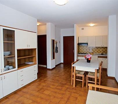 Apartmány SOGG. ADRIATICO, levné ubytování Porto S. Margherita, Itálie